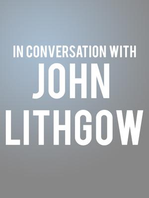 John Lithgow, Sydney Goldstein Theater, San Francisco
