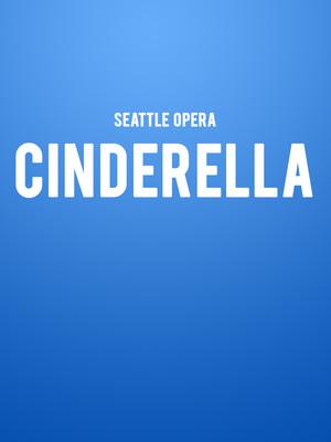 Seattle Opera - Cinderella Poster