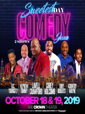 Sweetest Day Comedy Jam Poster