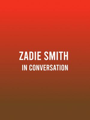 Zadie Smith Poster