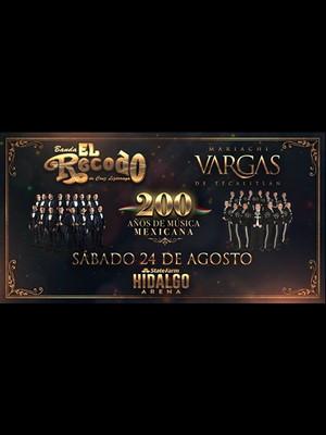 Banda El Recodo and Mariachi Vargas Poster