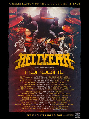 Hellyeah at Union Hall
