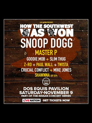 How The Southwest Was Won, Dos Equis Pavilion, Dallas