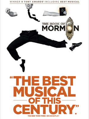 The Book of Mormon, Edinburgh Playhouse Theatre, Edinburgh