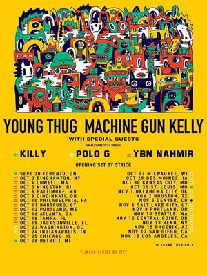Young Thug at Xfinity Theatre