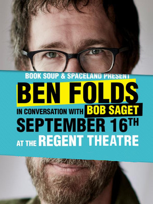An Evening with Ben Folds: A Conversation Poster
