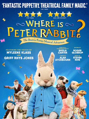Where is Peter Rabbit? Poster