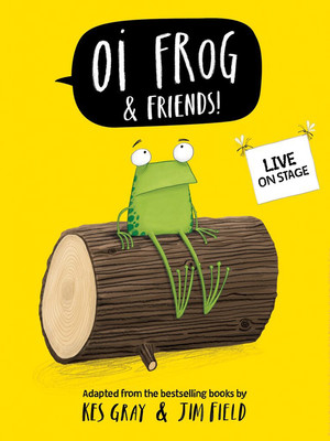 Oi Frog & Friends Poster