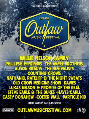 Outlaw Music Festival, West Side Tennis Club, Brooklyn