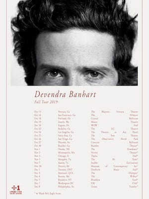 Devendra Banhart at Brooklyn Steel