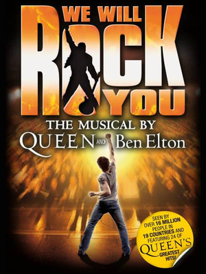 We Will Rock You, Glasgow Theatre Royal, Glasgow