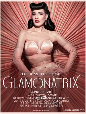 Dita Von Teese Glamonatrix Poster