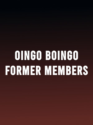 Oingo Boingo Former Members, Celebrity Theatre, Phoenix