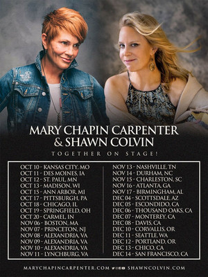 Mary Chapin Carpenter and Shawn Colvin at Benaroya Hall