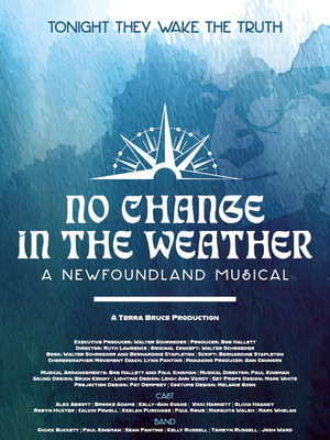 No Change in the Weather - A Newfoundland Musical Poster