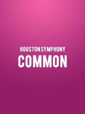 Houston Symphony - Common Poster