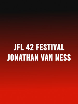 JFL42 Festival - Jonathan Van Ness Poster