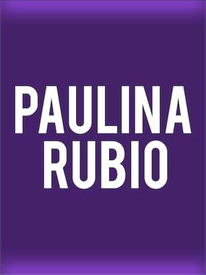 Paulina Rubio Poster