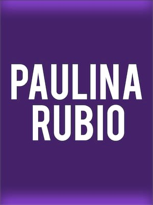 Paulina Rubio, City National Civic, San Jose