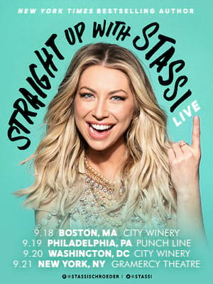Straight Up with Stassi, Hoyt Sherman Auditorium, Des Moines