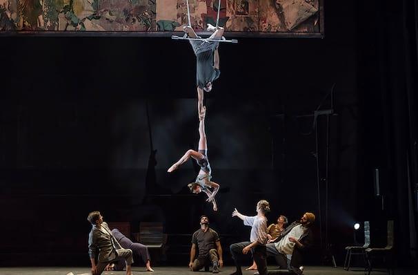 Cirque 7 Fingers Passengers, Cutler Majestic Theater, Boston