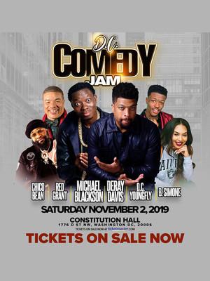 DC Comedy Jam Poster