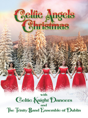 Celtic Angels Christmas Poster