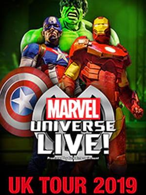 Marvel Universe Live! Poster