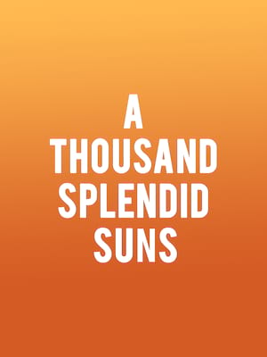 A Thousand Splendid Suns at Kreeger Theatre