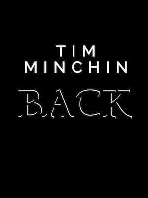 Tim Minchin - Back Poster