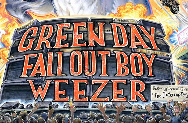Green Day with Fall Out Boy and Weezer, Hersheypark Stadium, Hershey