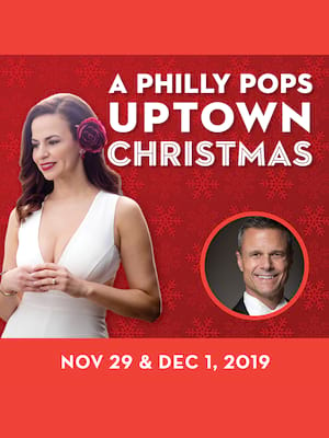 Philly POPS Presents Uptown Christmas Poster