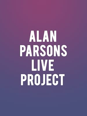Alan Parsons Live Project at The Bomb Factory
