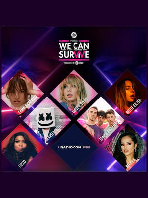 We Can Survive: Taylor Swift, Billie Eilish, Camila Cabello, Jonas Brothers, Lizzo Poster