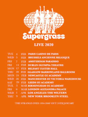 Supergrass Poster