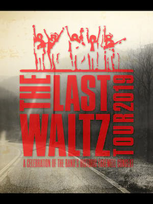 The Last Waltz Tour - Warren Haynes, Jamey Johnson, Lukas Nelson Poster