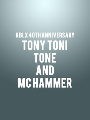 KBLX 40th Anniversary - Tony Toni Tone and MC Hammer at Oracle Arena