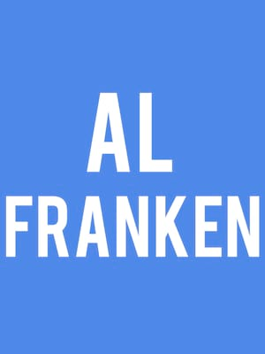 Al Franken at Royal Oak Music Theatre