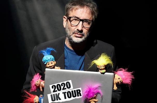 David Baddiel Trolls Not The Dolls, Kings Theatre, Glasgow