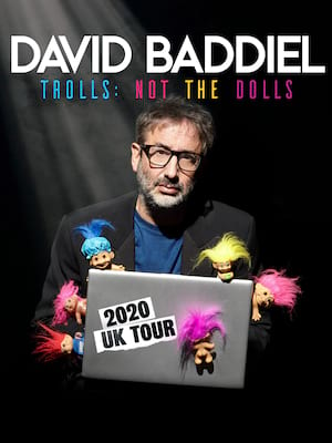 David Baddiel - Trolls: Not The Dolls Poster