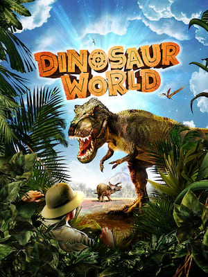 Dinosaur World Live Poster