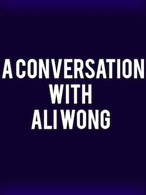 A Conversation with Ali Wong Poster