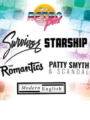 Jack FM RETROPLEX 2019 - Survivor, Starship, The Romantics, Scandal, Modern English at Verizon Theatre