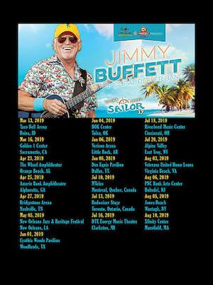 Jimmy Buffett at Amway Center