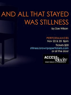And All That Stayed Was Stillness Poster
