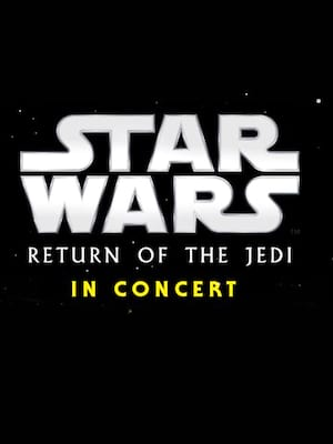 Star Wars - Return of the Jedi in Concert Poster