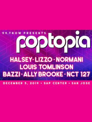 Poptopia - Halsey, Lizzo, Normani, Bazzi at SAP Center