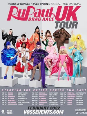 RuPaul's Drag Race at Manchester Palace Theatre