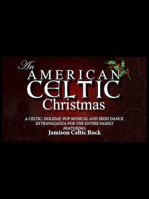 An American Celtic Christmas Poster