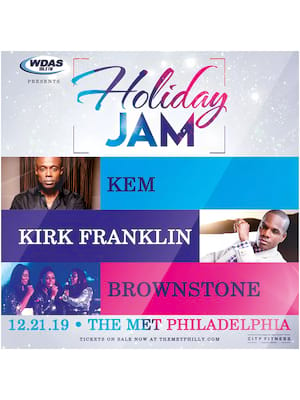 WDAS Holiday Jam at The Met Philadelphia